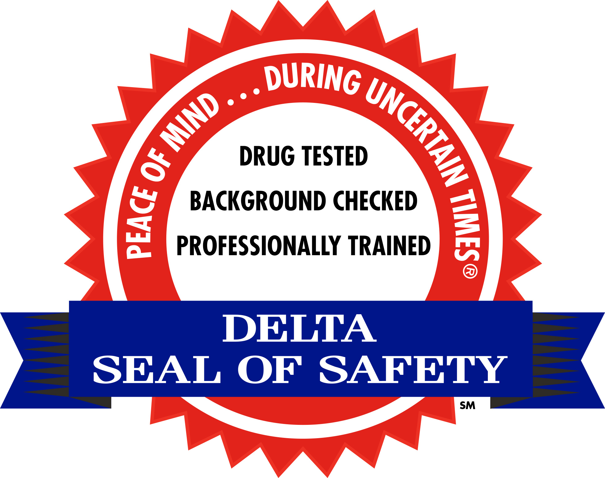 delta seal of safety